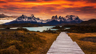Chile Sunset
